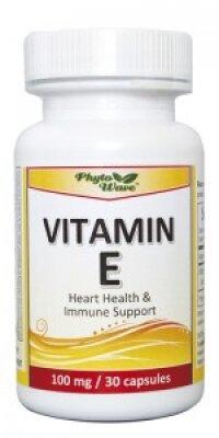 Витамин Е 100 мг 30 капс Phyto Wave