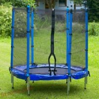 Комплект батут с мрежа и стълба 140 см Spartan Sport